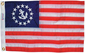 FLAG US YACHT ENSIGN 12INX18IN