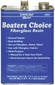 BOATERS CHOICE RESIN, GAL