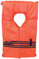 ADULT LIFE VEST-FOAM ORANGE