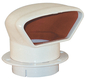 VENT LOW PROFILE 3IN, WHITE