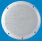 6 WHITE ROUND GRILL SPKRS-80