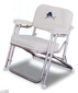 FOLDING DECK CHAIR WHT W/FISH