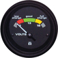 GAUGE VOLT METER  INT'L RED
