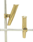MID MNT ROD HOLDER 7/8IN GOLD
