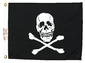 12 X 18 JOLLY ROGER FLAG