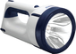 4D WATERBEAM FLASHLIGHT BLU/WH