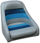CAPTAINS CHAIR, BLUE/GREY