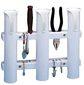 3 ROD WHITE ROD HOLDER