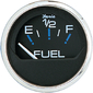 CHES S/S BLK FUEL LEVEL GAUGE