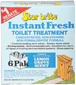 INSTFRESH TOIL TREAT LEM 6PK