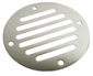 STAINLESS DRAIN COVER-2 1/2 IN