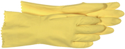GLOVE LATEX FLOCKEDLINED LG