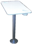 DELUXE TABLE PEDESTAL W/TOP