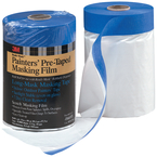24IN PRE-TAPED MASKING FILM W/